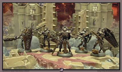40k Necrons - Lychguards