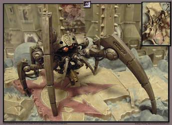 40K Necrons - Triarch Stalker by Archibald-TK