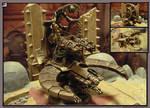 40K Necrons - Obliteration Barge by Archibald-TK