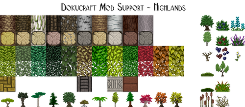 Dokucraft Mod Support - Highlands - Download by Archibald-TK