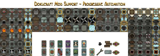 Dokucraft Mod Support - Progressive Automation