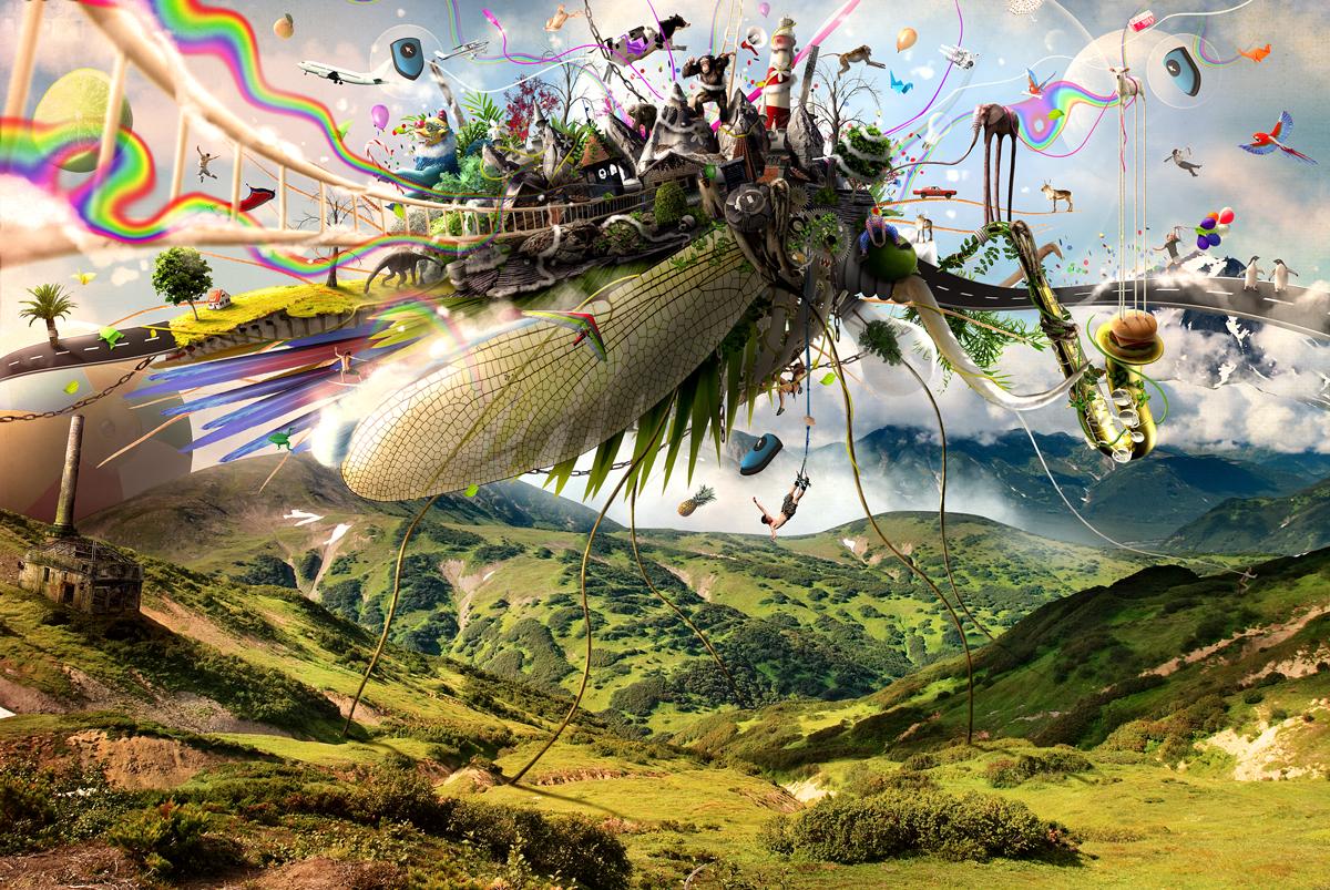 Fleeing creativity