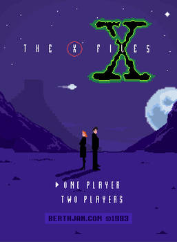 X-files Nes 8 Bit Game