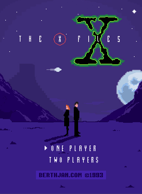 X-files Nes 8 Bit Game by berthjan