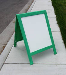 Large Two Sided Easel