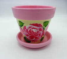Another Pink rose pot