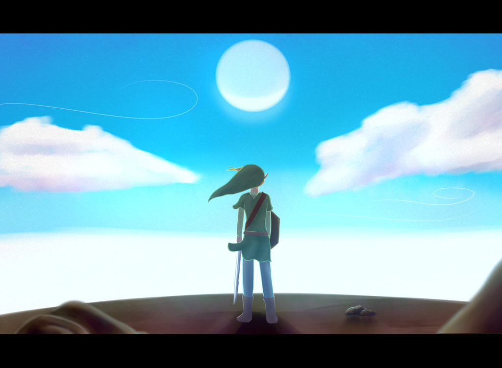 Atop Dragon Roost Island by TwiliYoshi