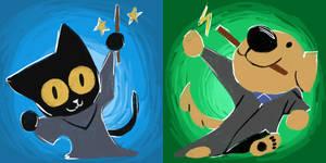 Kitty Halloween Magic