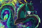 Dragon Neon Woof