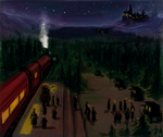 first arriving in Hogwarts