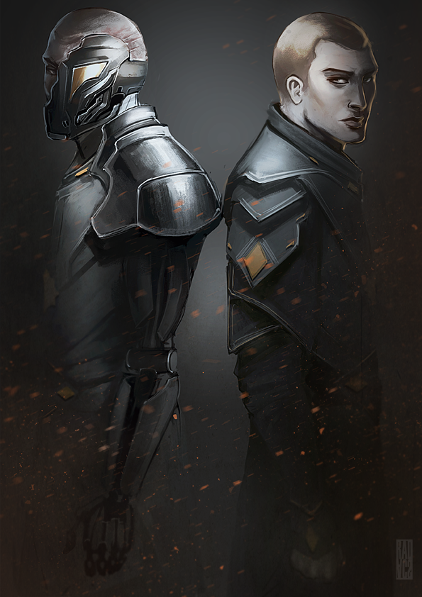 Cain and Abel by radacs