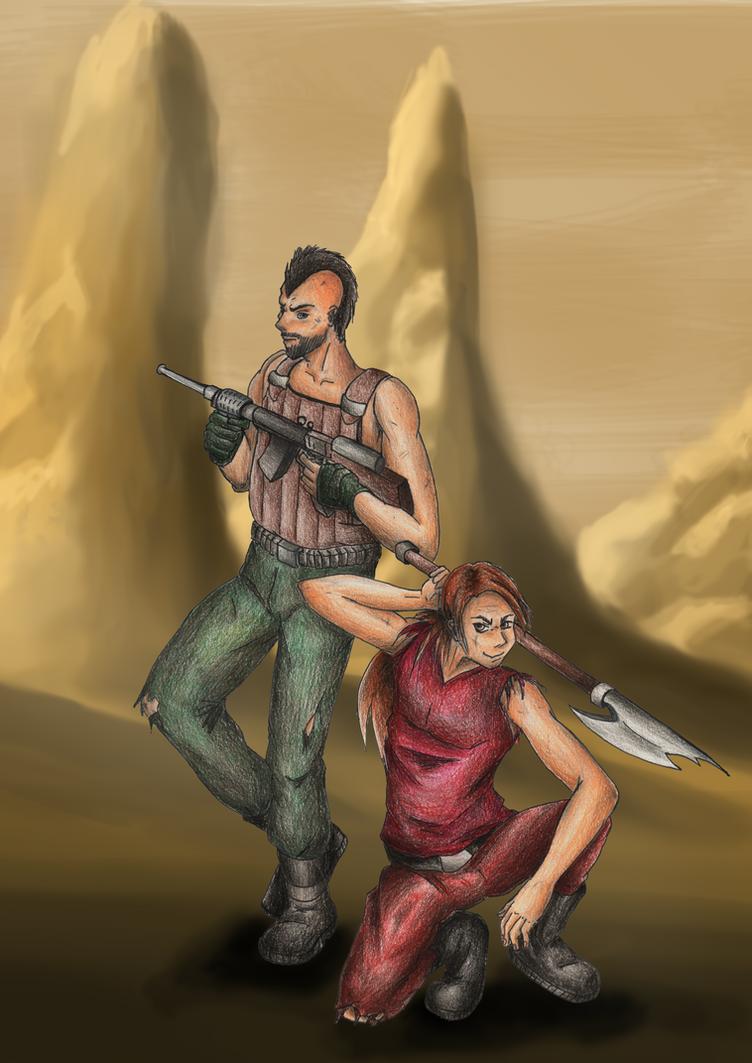 Ighar and Trayton, original characters. by pukipuki25