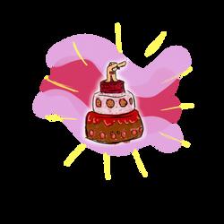 Teletrumpy Cake by xTH3Mx