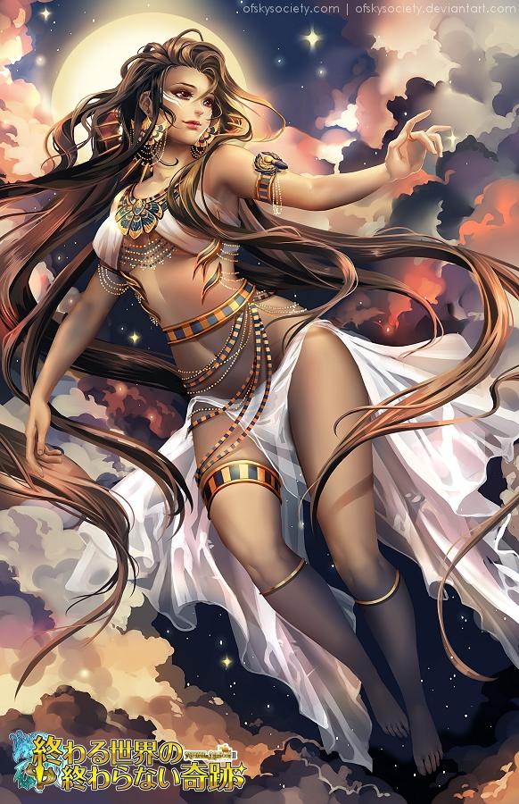 Nuit, Egyptian Goddess of the Sky by ofSkySociety