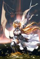 Jeanne D'Arc by ofSkySociety