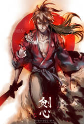 Rurouni Kenshin by ofSkySociety