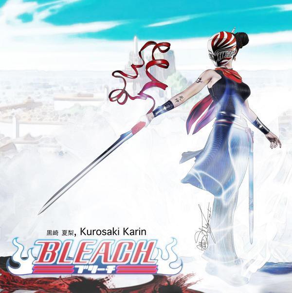 Bleach Ichigo Sis Karin By Vice Reborn