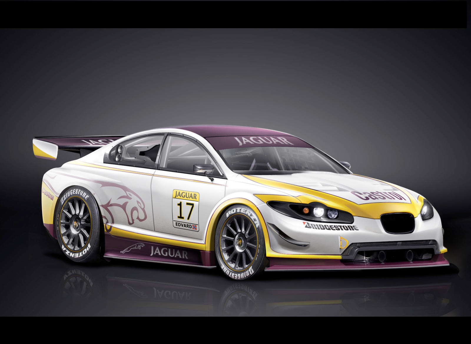 Jaguar Xf Racecar By Dr Phoenix On Deviantart