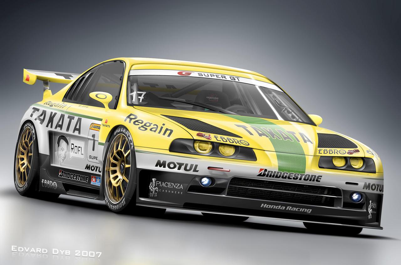 Honda Prelude Race Car