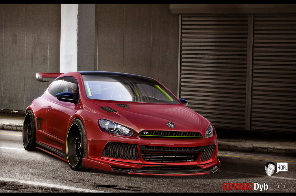 vw scirocco by dr phoenix on deviantart. Black Bedroom Furniture Sets. Home Design Ideas
