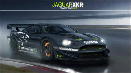 Jaguar XKR Racecar by dr-phoenix