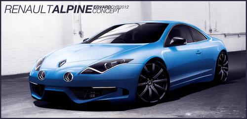 Renault Alpine Concept by dr-phoenix