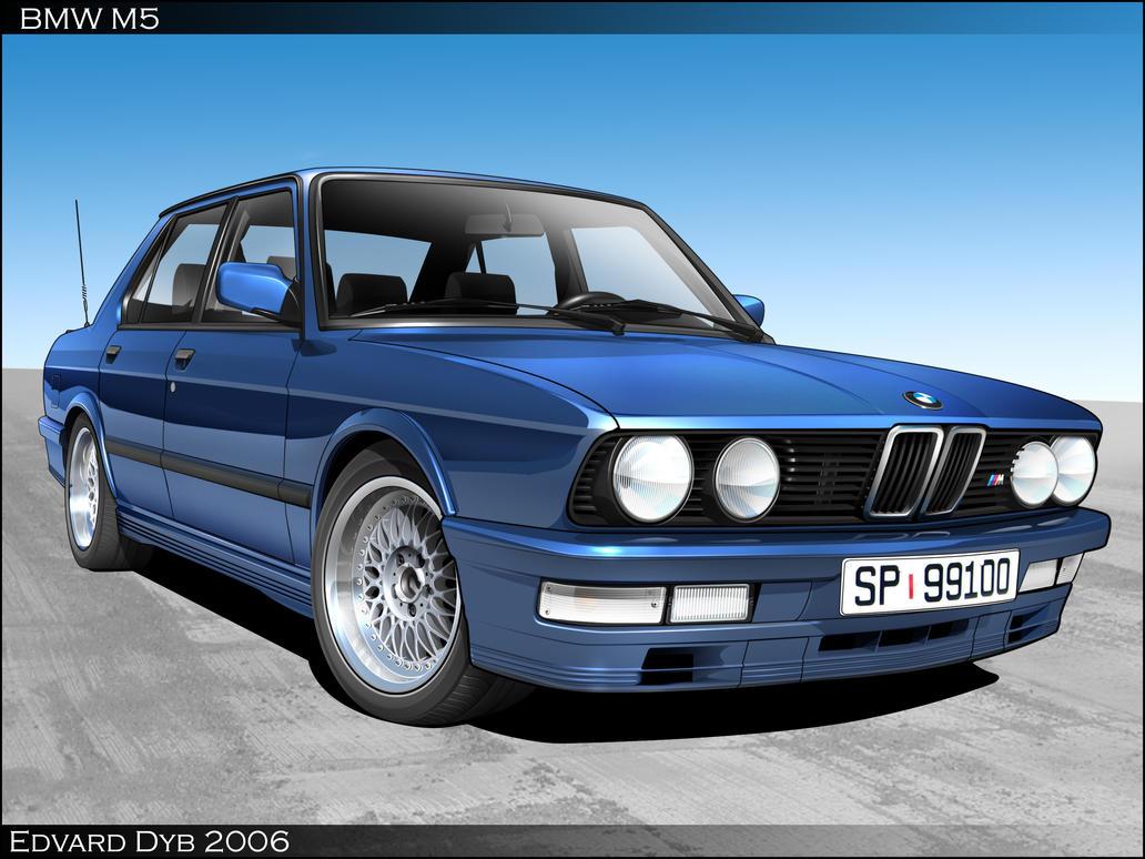 BMW M5 Toon by dr-phoenix