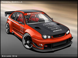 Toyota Corolla by dr-phoenix