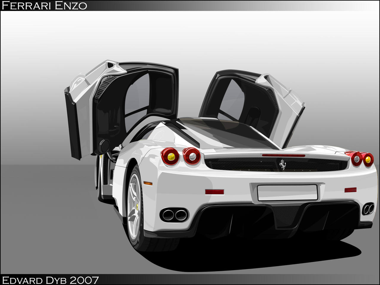 Ferrari enzo by dr phoenix on deviantart ferrari enzo by dr phoenix vanachro Image collections