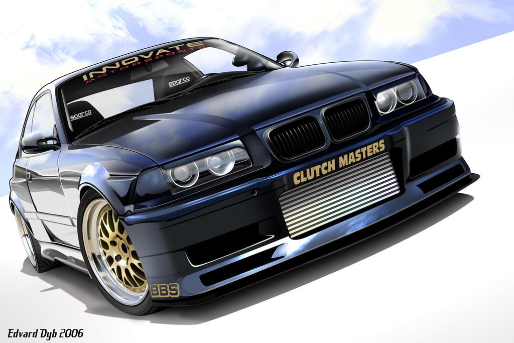 BMW E36 Turbo Widebody by dr-phoenix