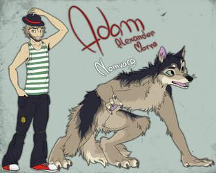 Adam by blackunia