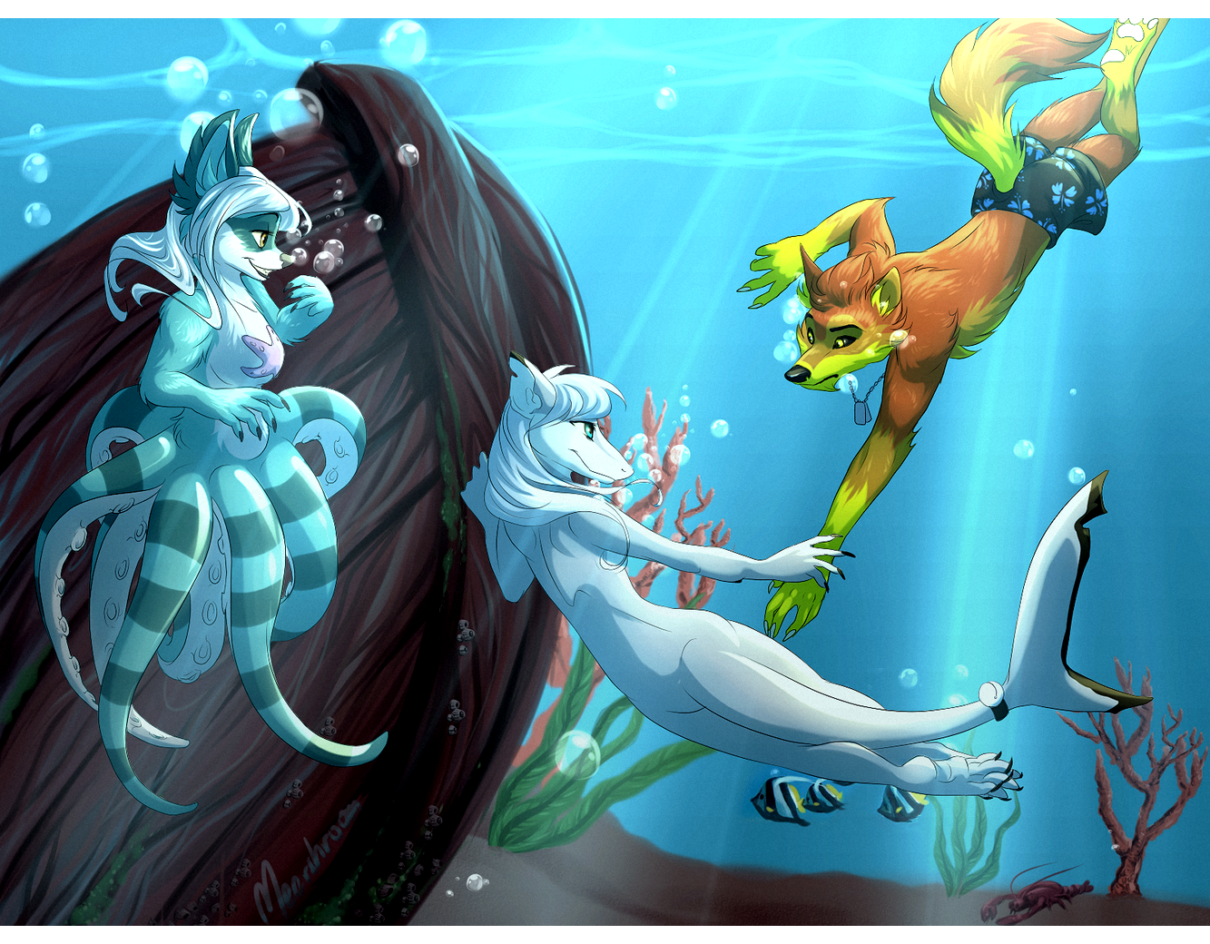Underwater Wonders by blackunia