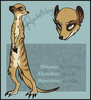 Rocketdog the meerkat by blackunia