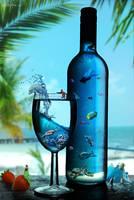 Paradise In A Bottle by nilecitypatrik