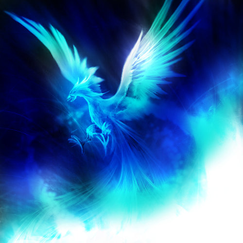 Ice Phoenix by PolarPhoenix