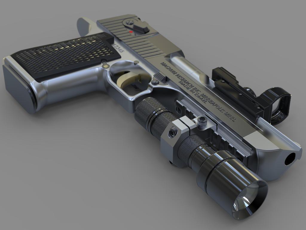 Desert Eagle Pistol By Shakdo