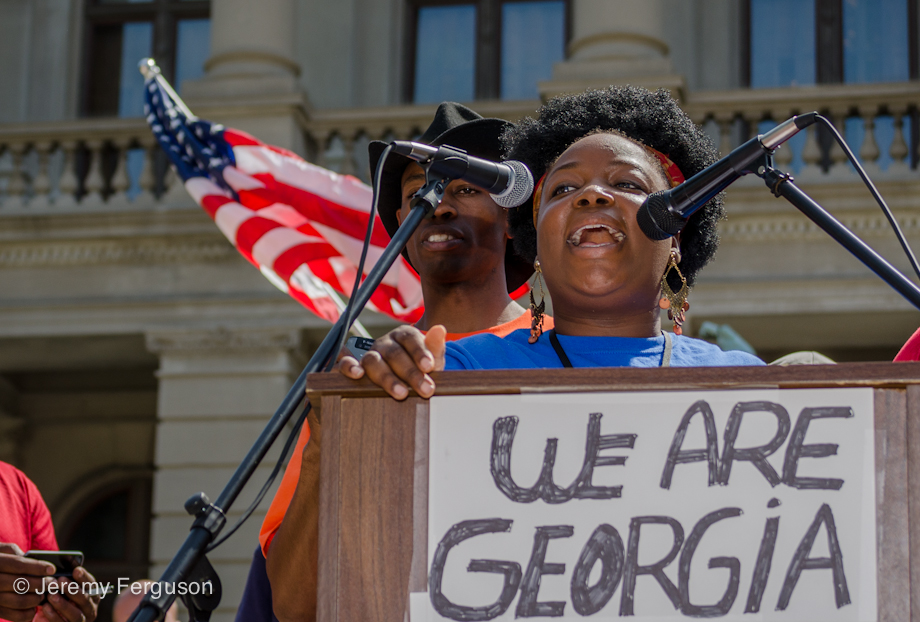 Rally at Capitol Bldg March 2012 by jferguson757