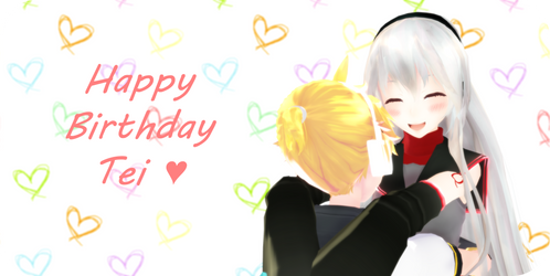 .: Happy birthday Tei :. by oOCanaChanOo