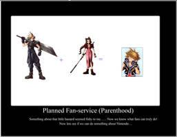Final Fantasy 7 Demotivational by MegadudeX13