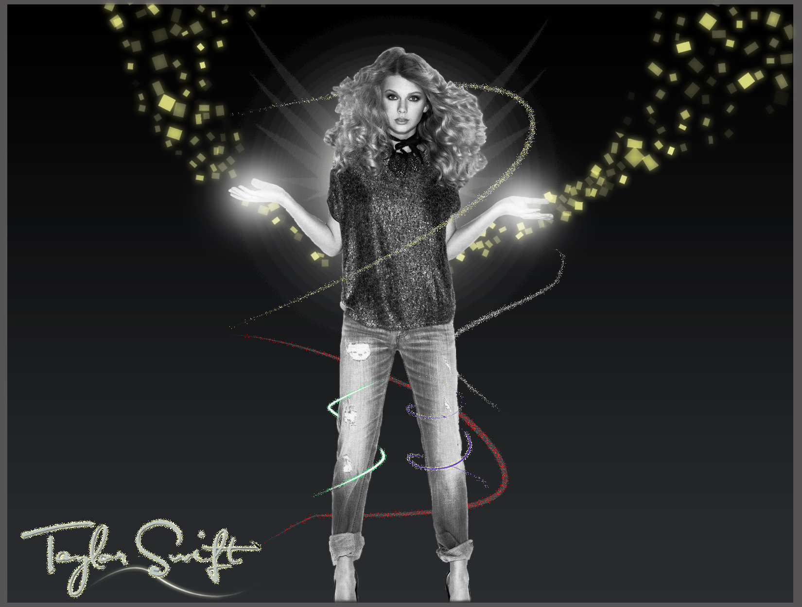 Taylor Swift Abstract Light Effects By Ayeshmantha On Deviantart