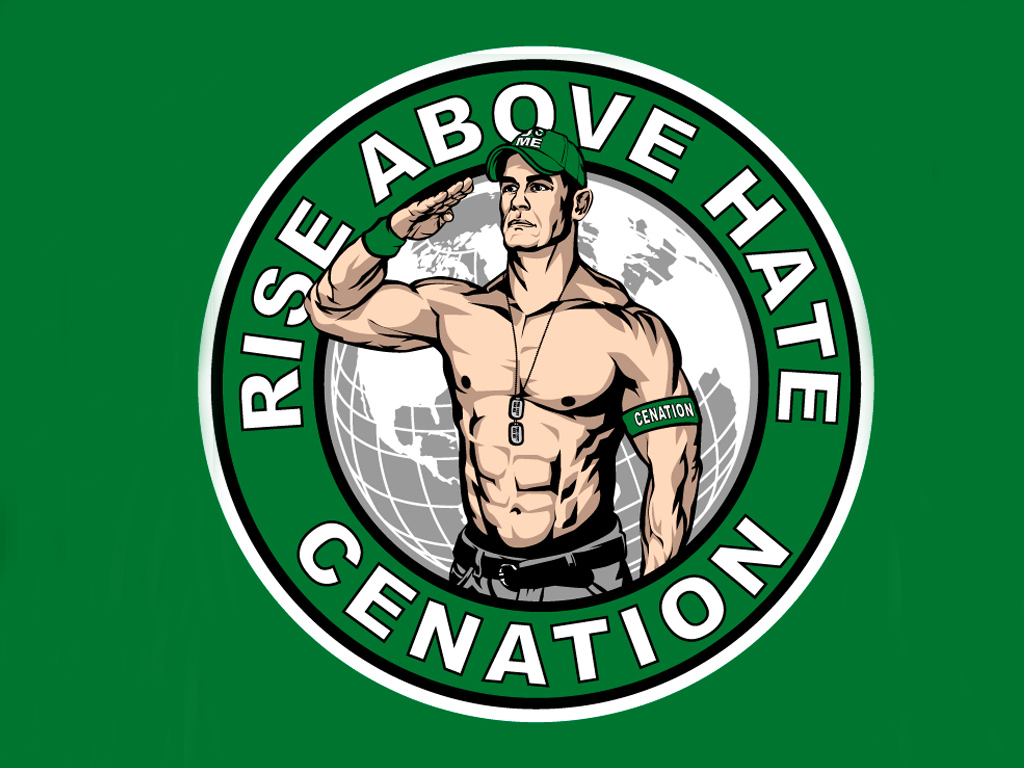 john cena rise above hate new logo by AyeshMantha