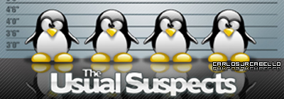 Tux Usual Suspects by carlosjrcabello