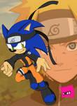 Sonic Naruto Cosplay