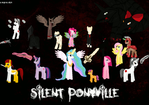 Silent Ponyville 8 Bit Poster (WIP/FINAL) by luXanSnake