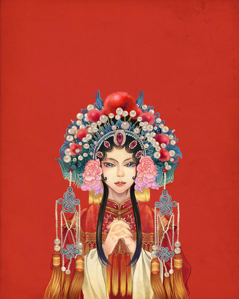 Chinese Opera by maya-uki