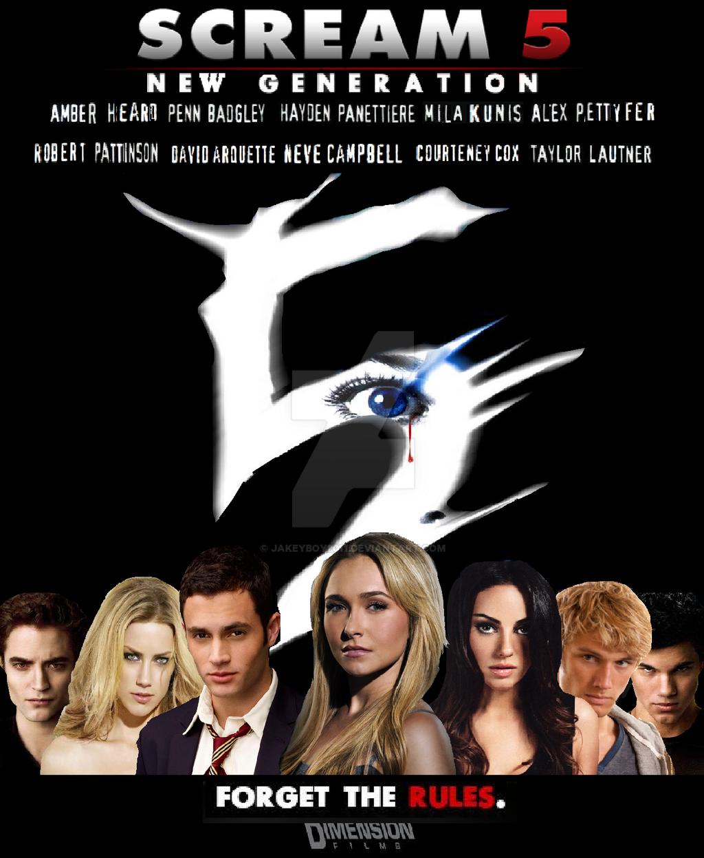 Scream 5 New Generation Poster by jakeyboy2011 on DeviantArt