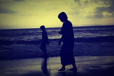 seaside scene by alimahdy