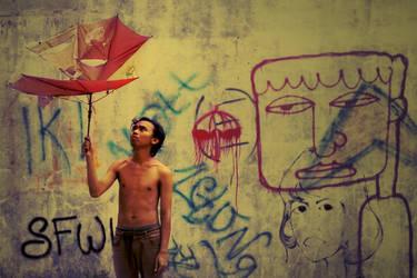 sedia payung 'rusak' sebelum hujan by alimahdy