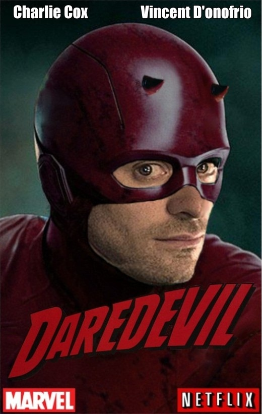 Daredevil Charlie Cox fan art