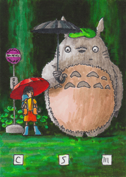Totoro I Card by cs3ink